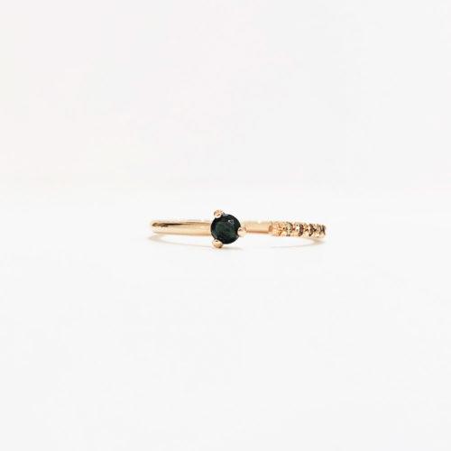 Black Diamond Gap Ring
